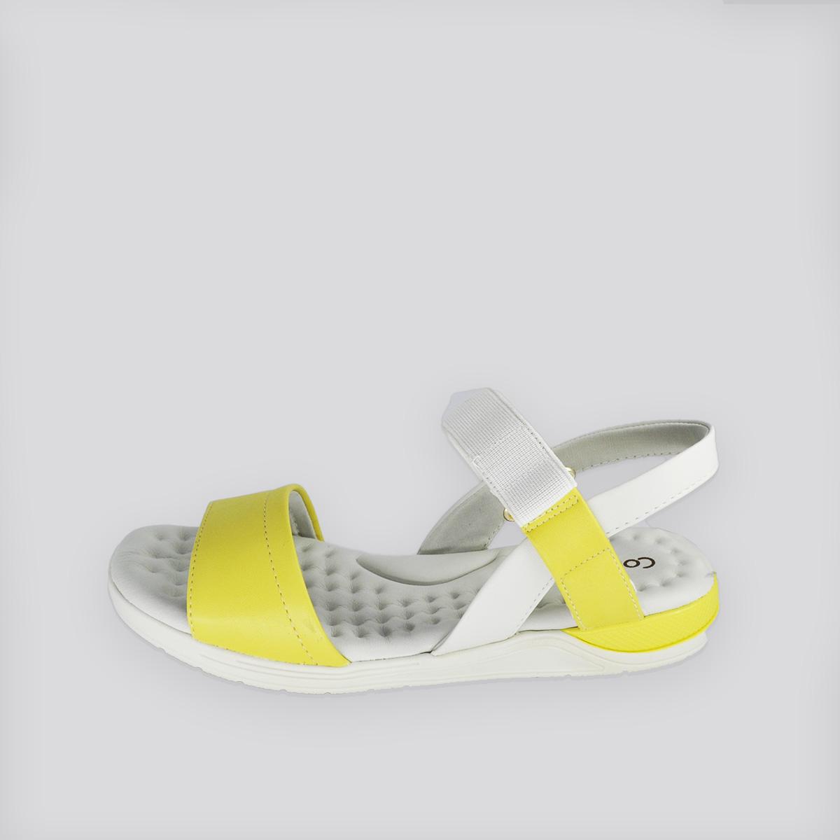 Papete ConfortFlex Branco/Amarelo Napa