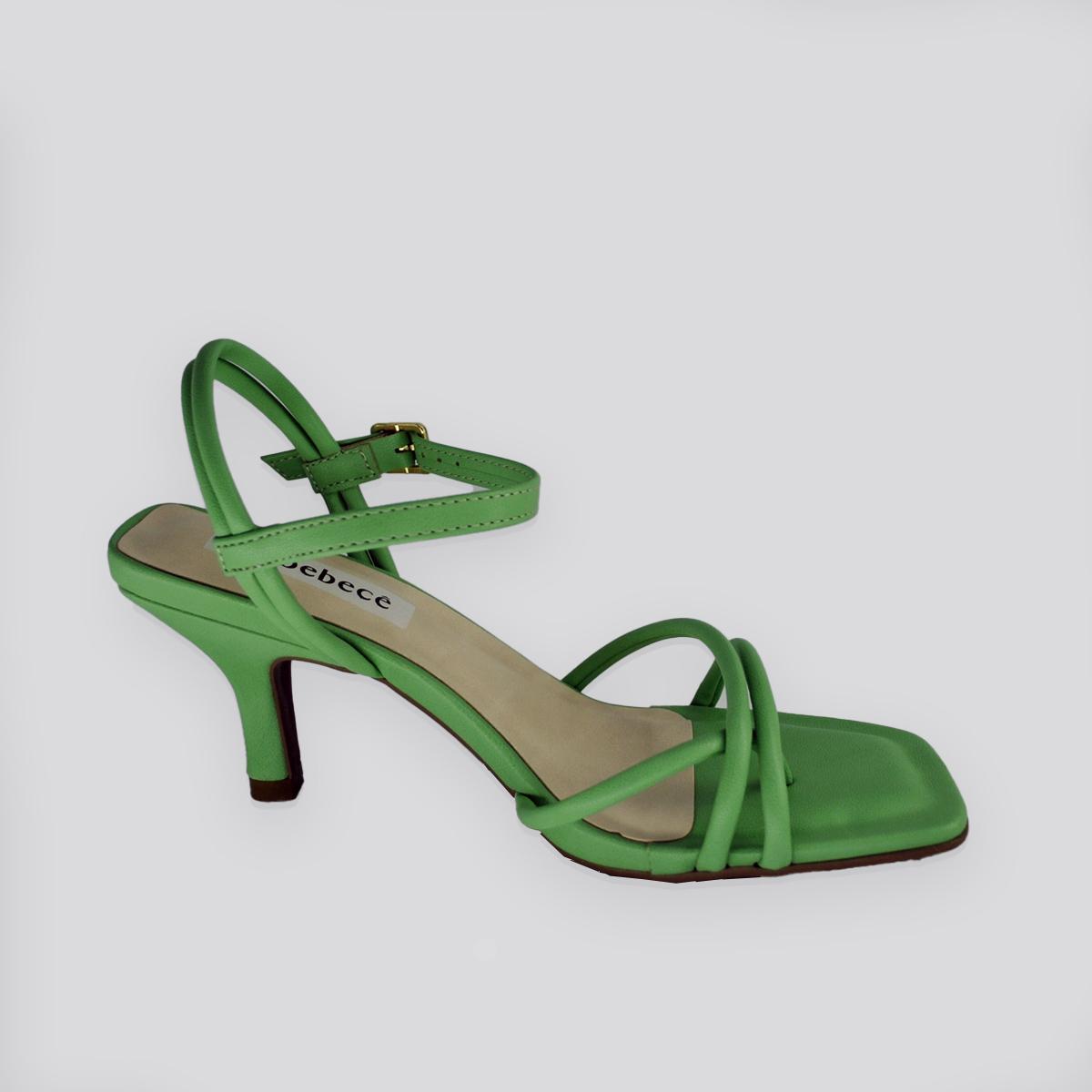 Sandália Bebecê Manhattan - CC Napa ( Verde )