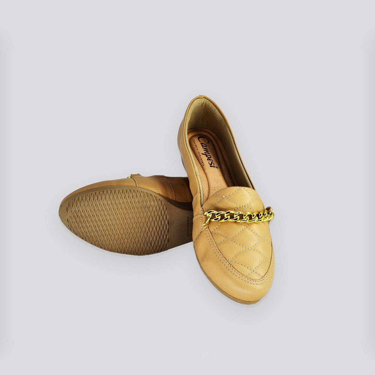 Sapato Feminino  Campesi Nude Napa (bege)