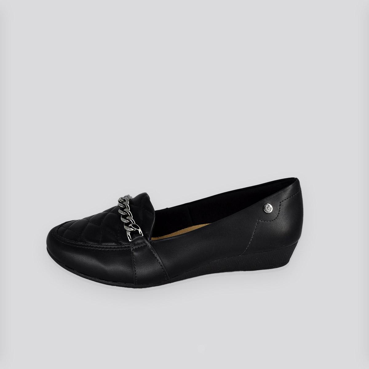 Sapato Feminino  Campesi Preto Napa