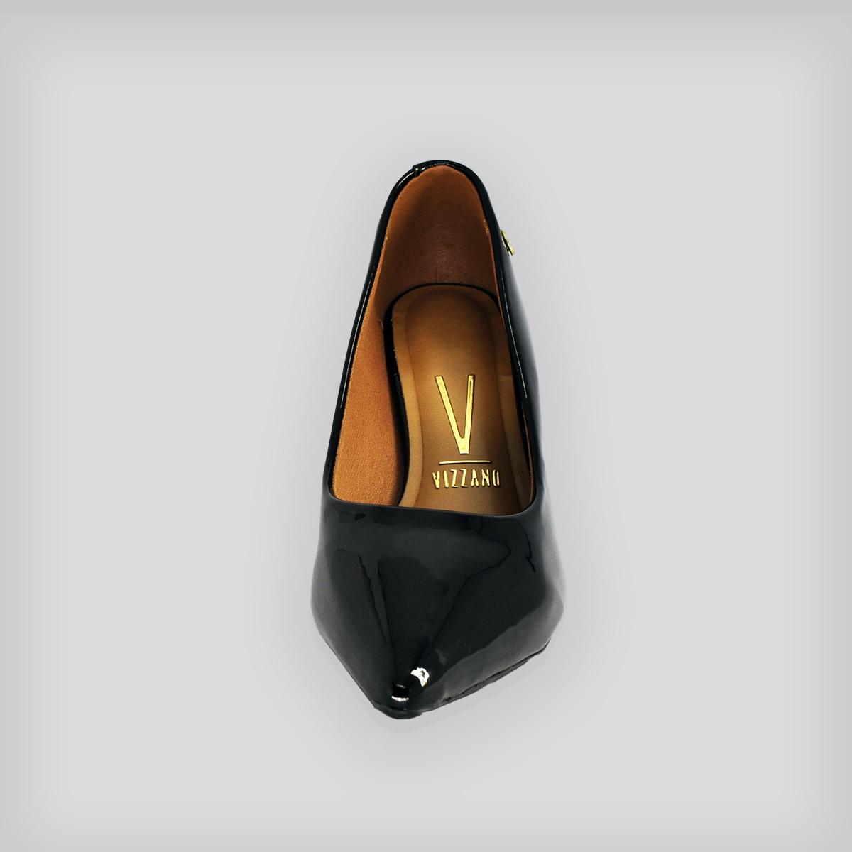 Sapato Scarpin Verniz Premium Preto
