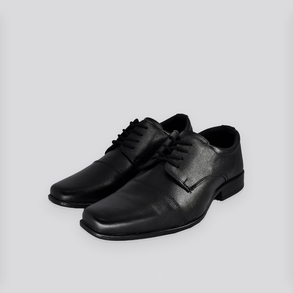 Sapato Social Masculino Andar Shoes  Amarrar Preto