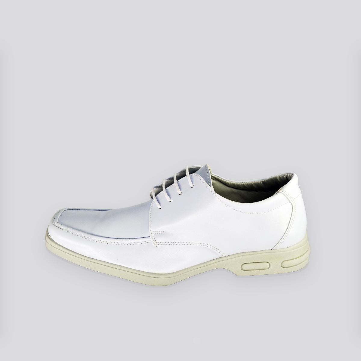 Sapato Social Masculino Bertelli Branco