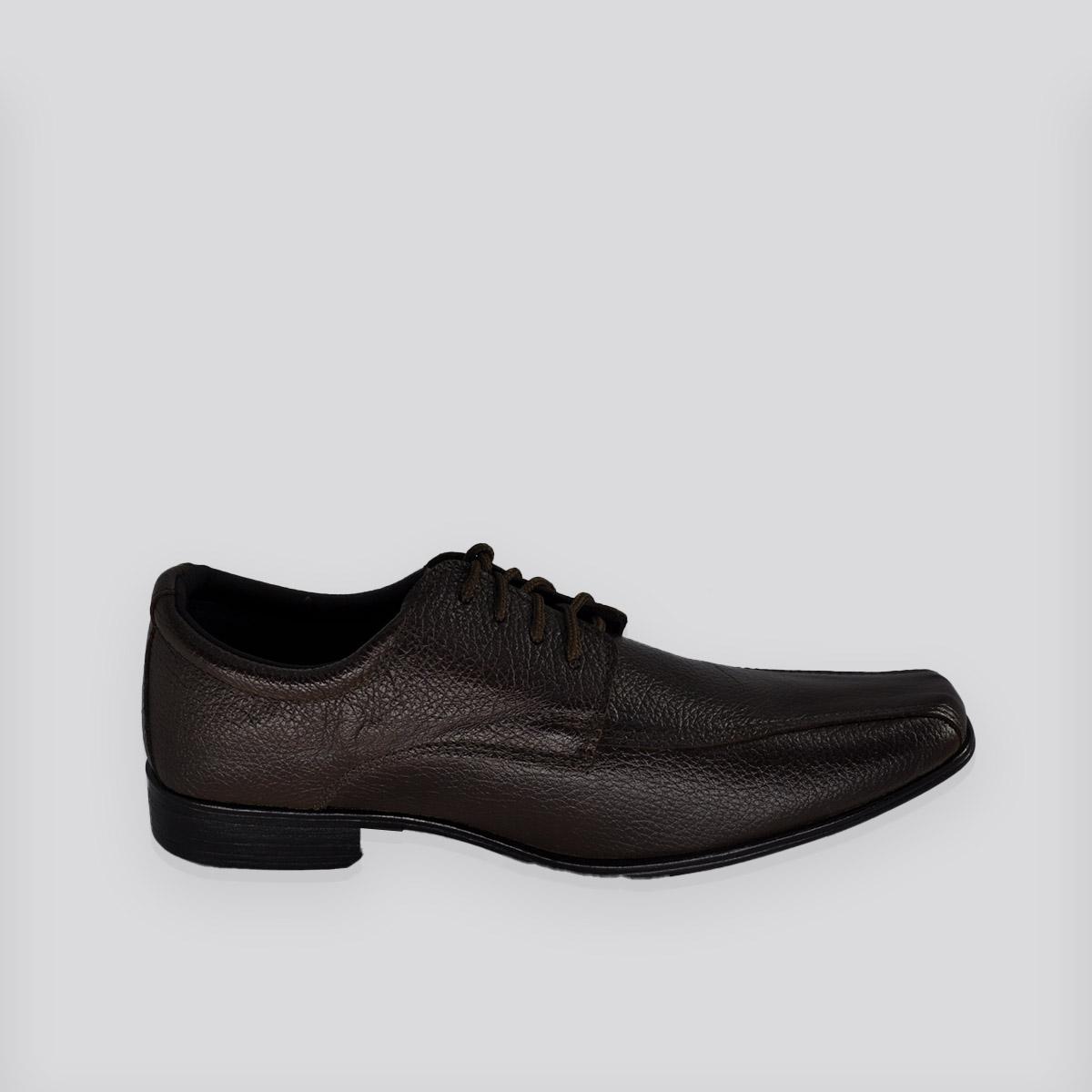 Sapato Social Masculino Cabedali Marrom ( Café )