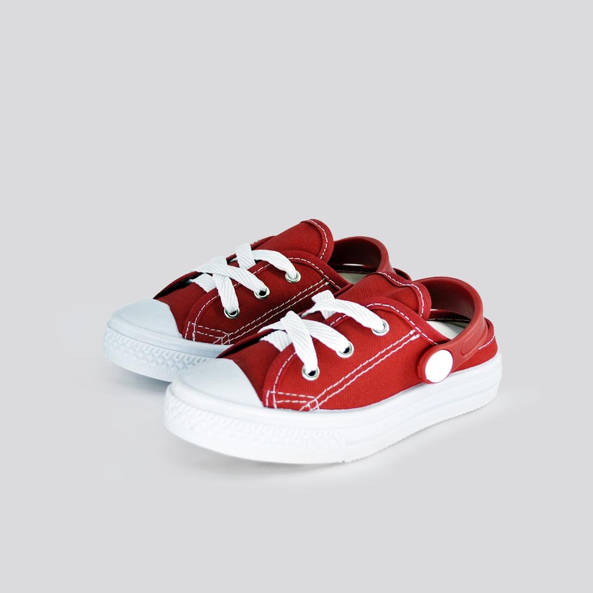 Tênis Infantil Foco Mule Vermelho