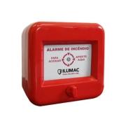 Acionador alarme de incêndio AMF-C com Rearme ILUMAC