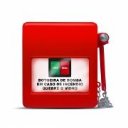 Botoeira Manual bomba de Incêndio c/ Martelo HDX
