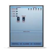 Central De Alarme De Incêndio 06 Laços X 12vcc MC 2400