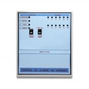 Central De Alarme De Incêndio 12 Laços X 12vcc MC 2400