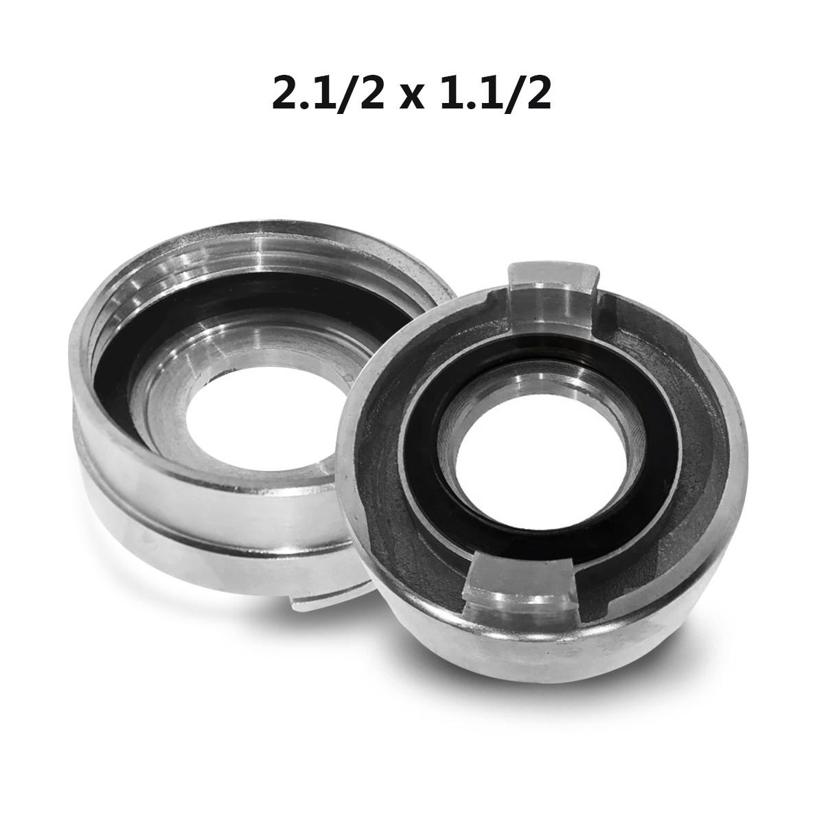 """Adaptador Storz 1.1/2 5FPP x 2.1/2"""" alumínio"""