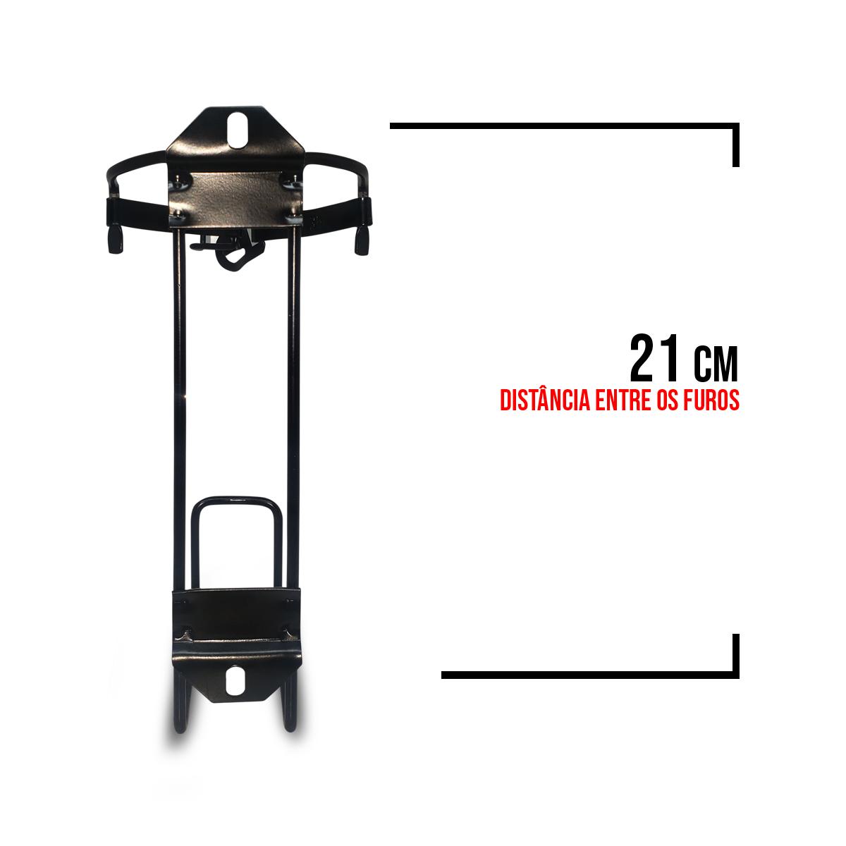 Extintor ABC 02kgs C/Suporte - Vans, Caminhões - Val. 5 Anos