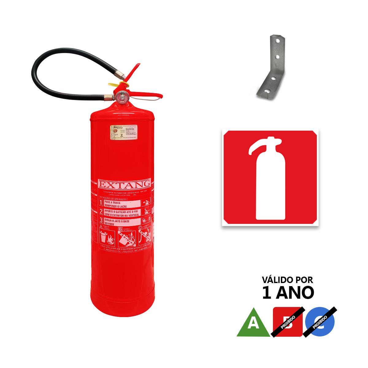 Extintor Água 10 Litros - Ap10