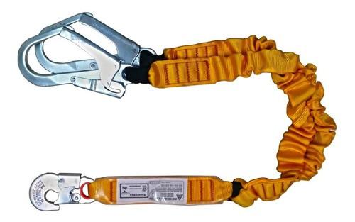 Talabarte Y Elastico Absorvedor De Energia Abs Conector 55mm