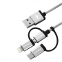 Cabo USB-3X1 C3tech CB-3000GY