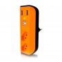 Carregador e filtro de linha USB Enermax Laranja