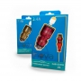 Carregador rápido veicular 3.4a USB Type C Inova CAR-G5116 Dourado