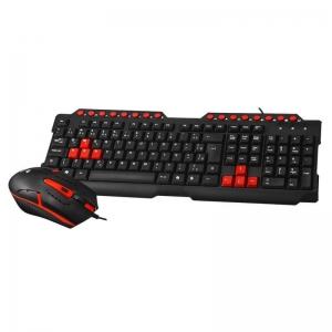 Kit teclado e mouse gamer C3tech GK-20BK
