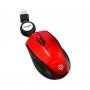 Mini mouse retrátil Bright Vermelho