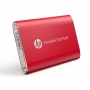 SSD externo 120GB USB-C 3.1 HP P500 Vermelho