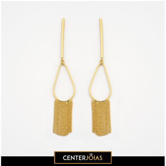 Brincos Cleópatra - Folheados a Ouro