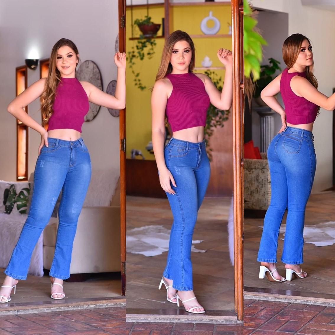 Calça Jeans Semi Fler Cabulosa