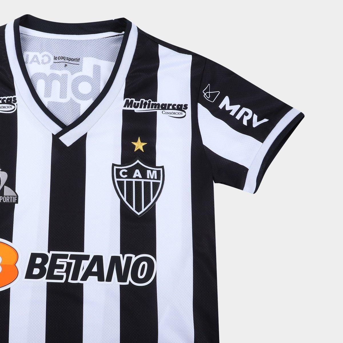 Camisa Atlético Mineiro I 21/22 s/nº Le Coq Feminina