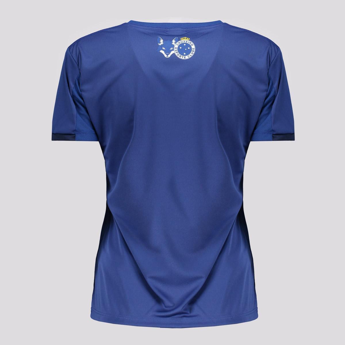 Camisa Feminina Cruzeiro Rub Oficial Licenciada