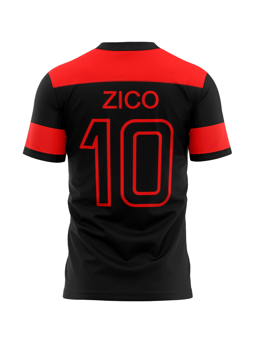 Camisa Flamengo Zico Edição Especial