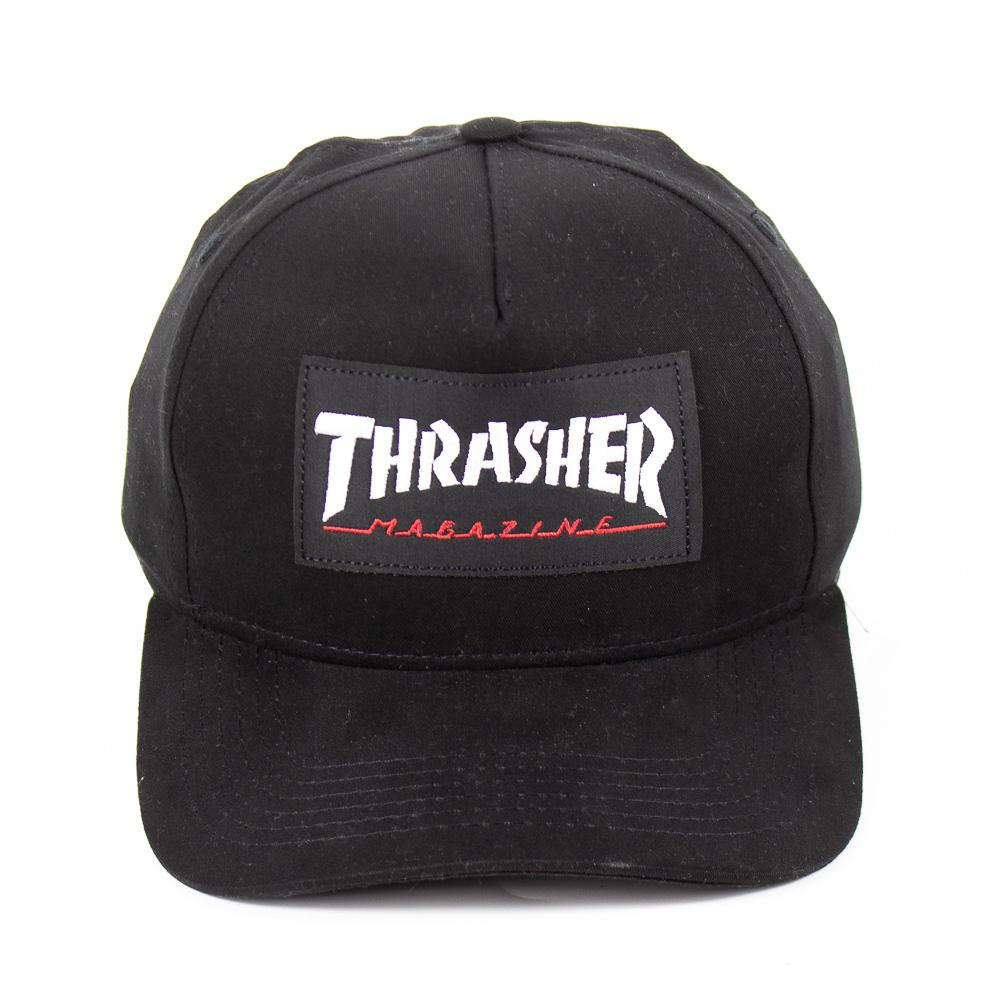 Boné Thrasher Logo Patch Preto
