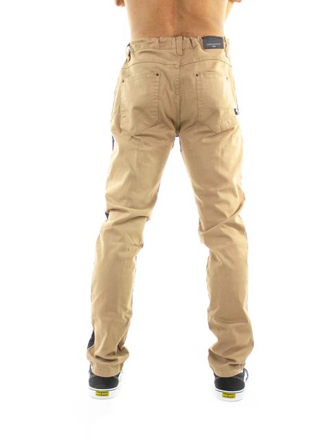 Calça Color HD Slim Khaki