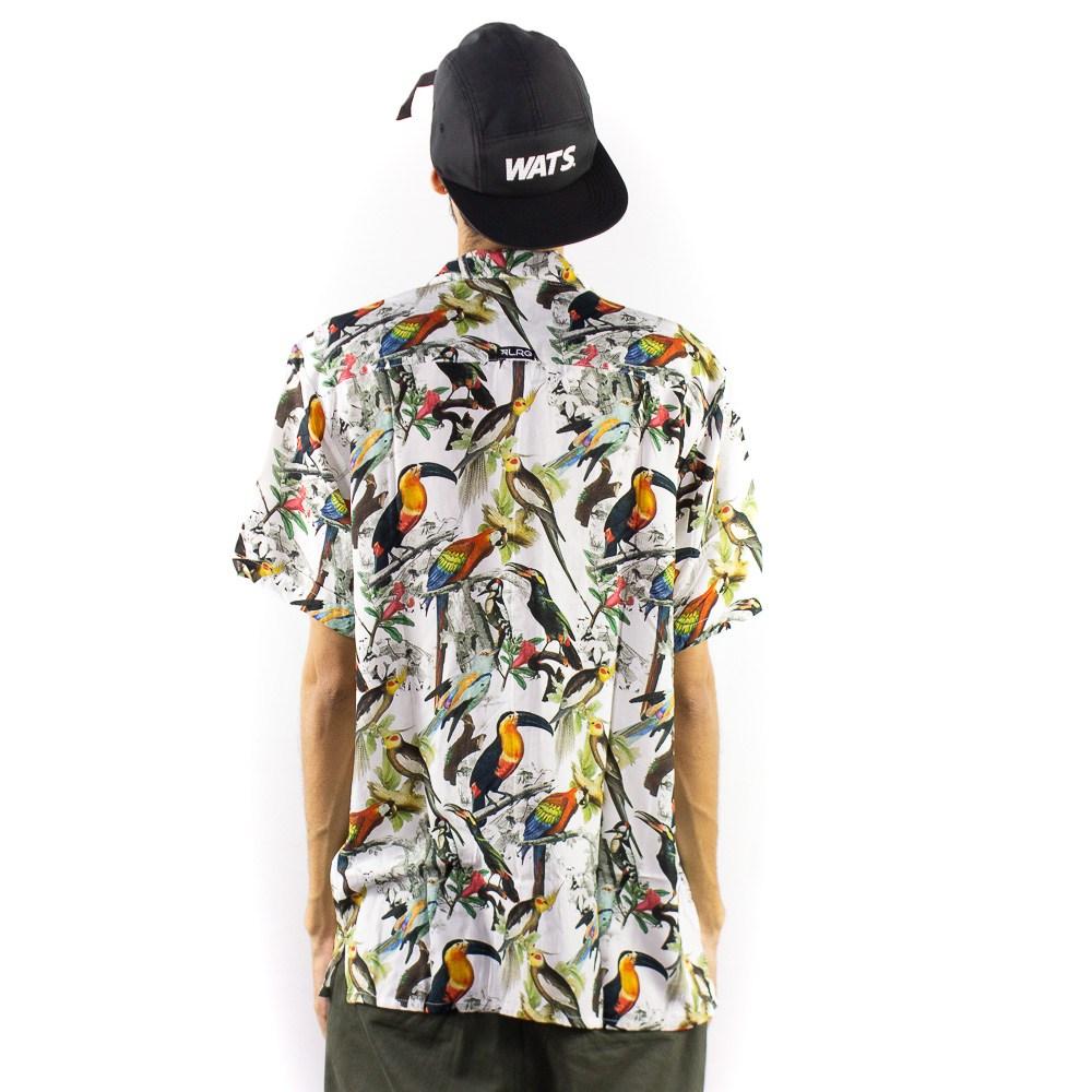 Camisa LRG  Pássaros Colorida