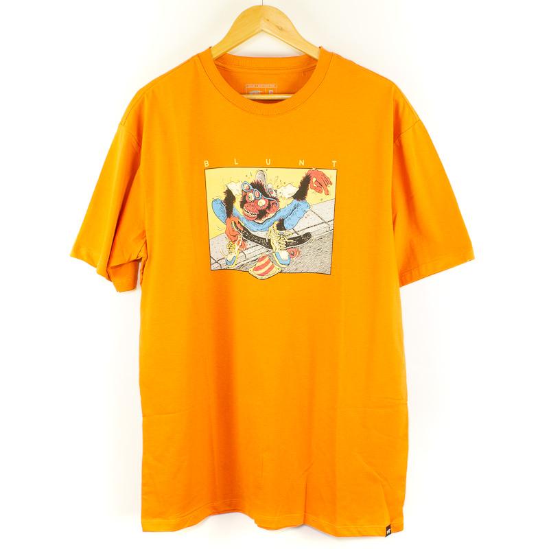 Camiseta Básica Blunt Cone Laranja