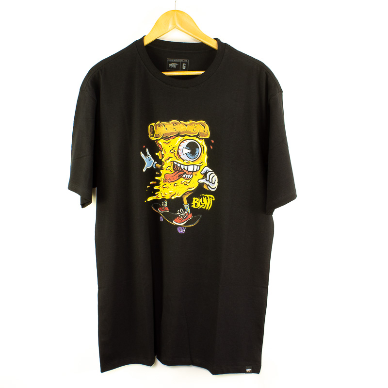 Camiseta Básica Blunt Crazy Preto