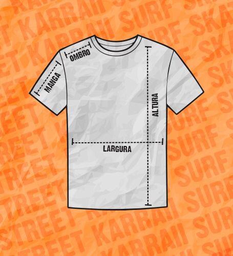 Camiseta Básica Blunt Cream Preto