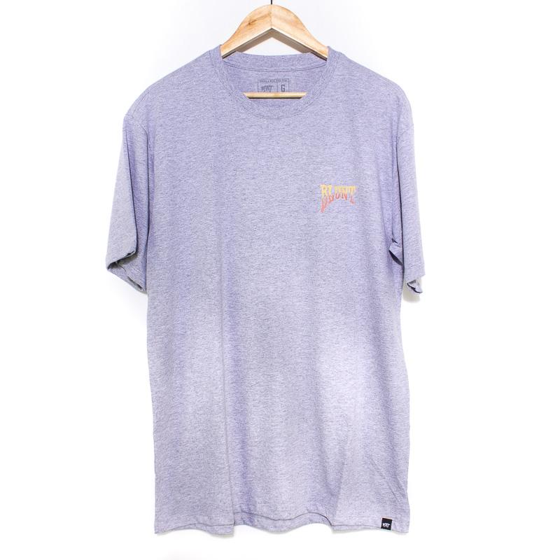 Camiseta Basica Blunt Foliage Mescla Claro