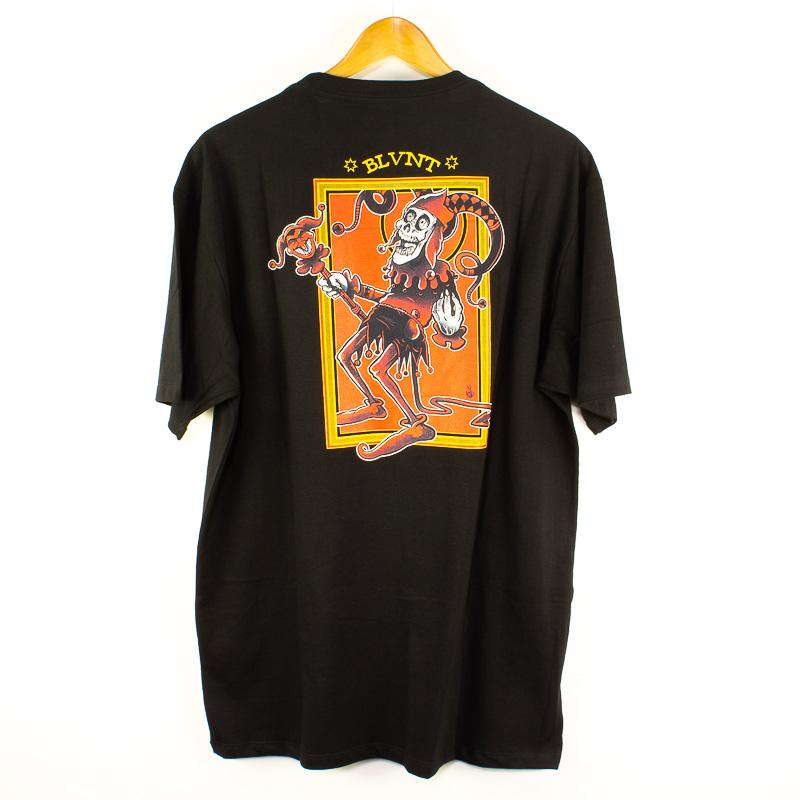 Camiseta Básica Blunt Joker Preto