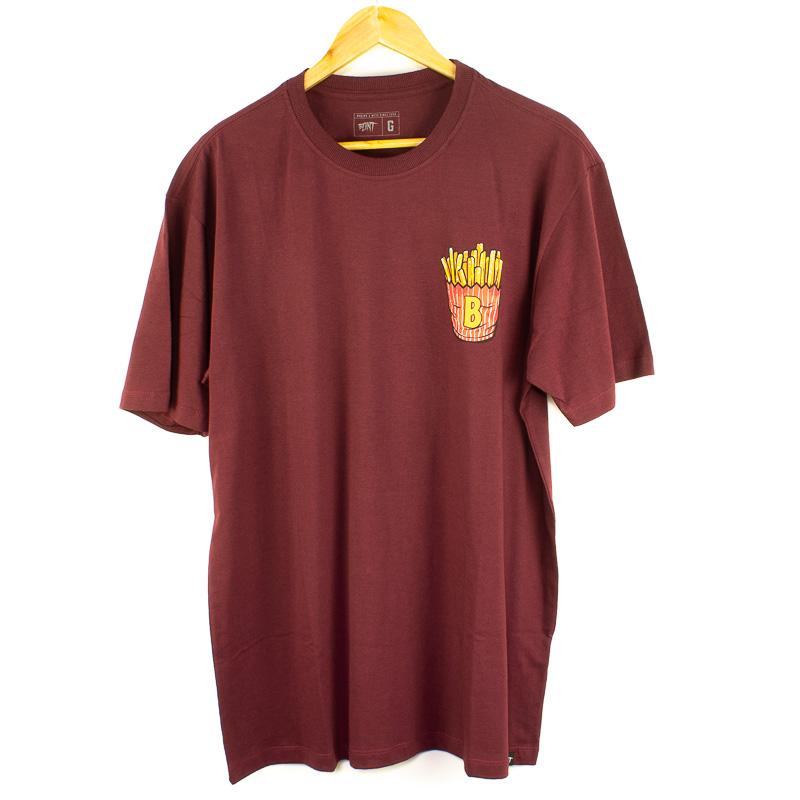 Camiseta Básica Blunt Lunch Vinho