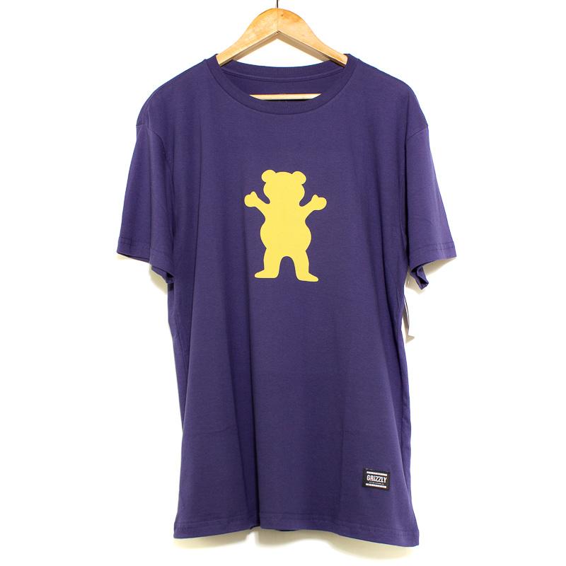 Camiseta Big Grizzly OG Bear Tee Purple