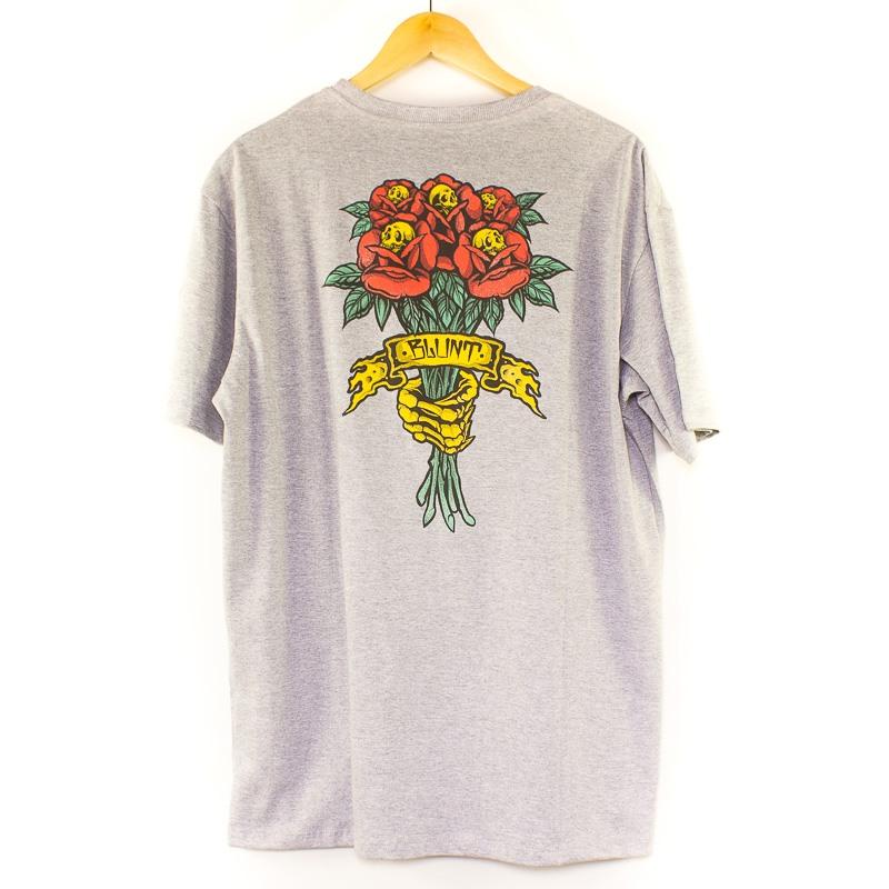 Camiseta Blunt Básica Bouquet Mescla