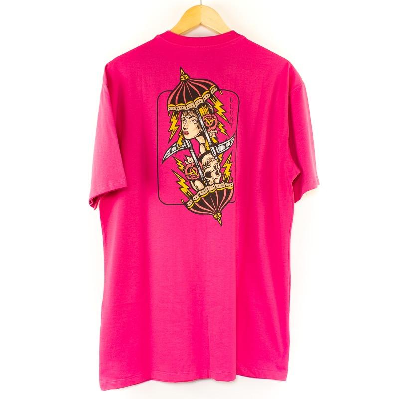Camiseta Blunt Básica Cheap Pink