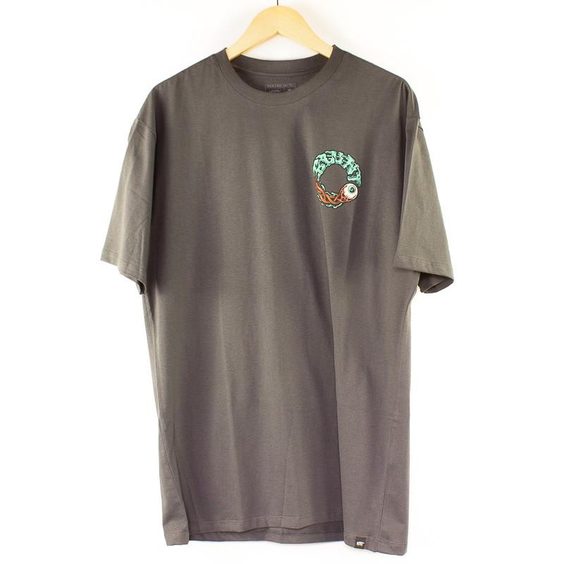 Camiseta Blunt Básica Circle Chumbo