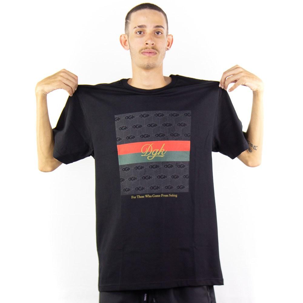 Camiseta DGK Lux Tee Preto
