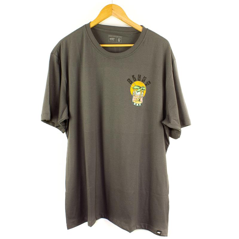 Camiseta Extra Blunt Coconut Chumbo