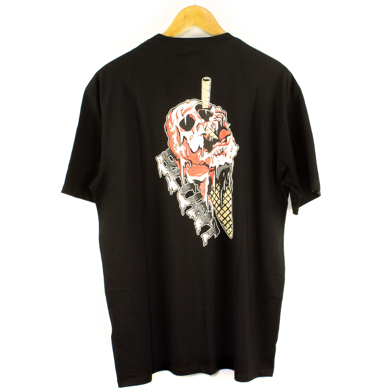 Camiseta Extra Blunt Cream Preto