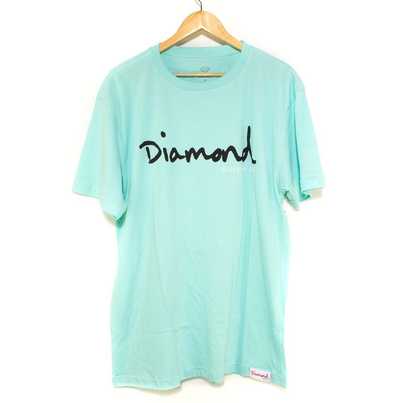 Camiseta Extra Diamond Og Script Tee Blue Diamond