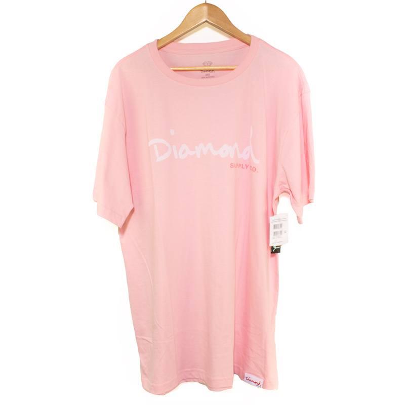 Camiseta Extra Diamond Og Script Tee Pink