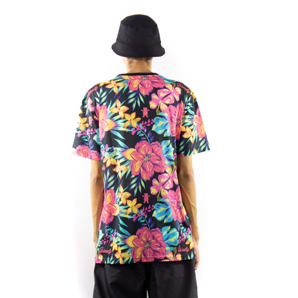 Camiseta Grizzly Maui Floral