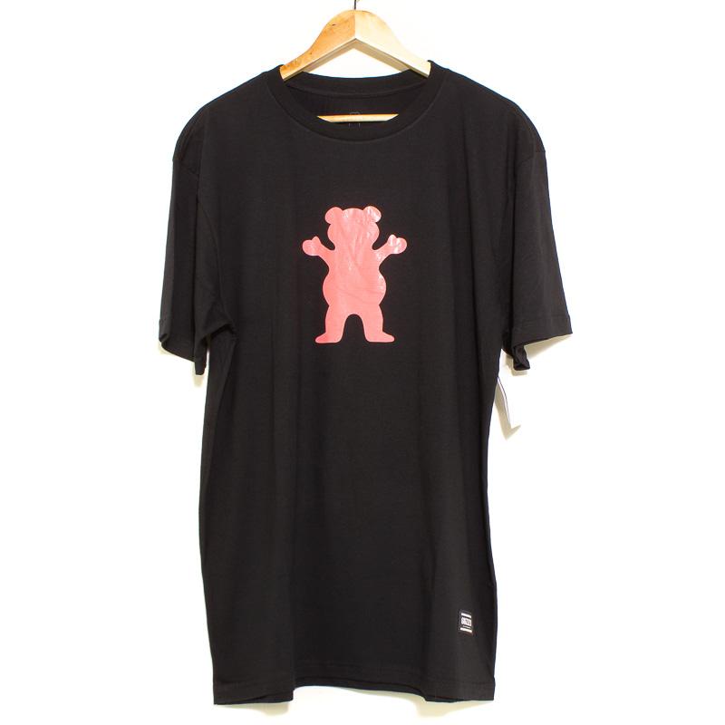 Camiseta Grizzly OG Bear Tee Black