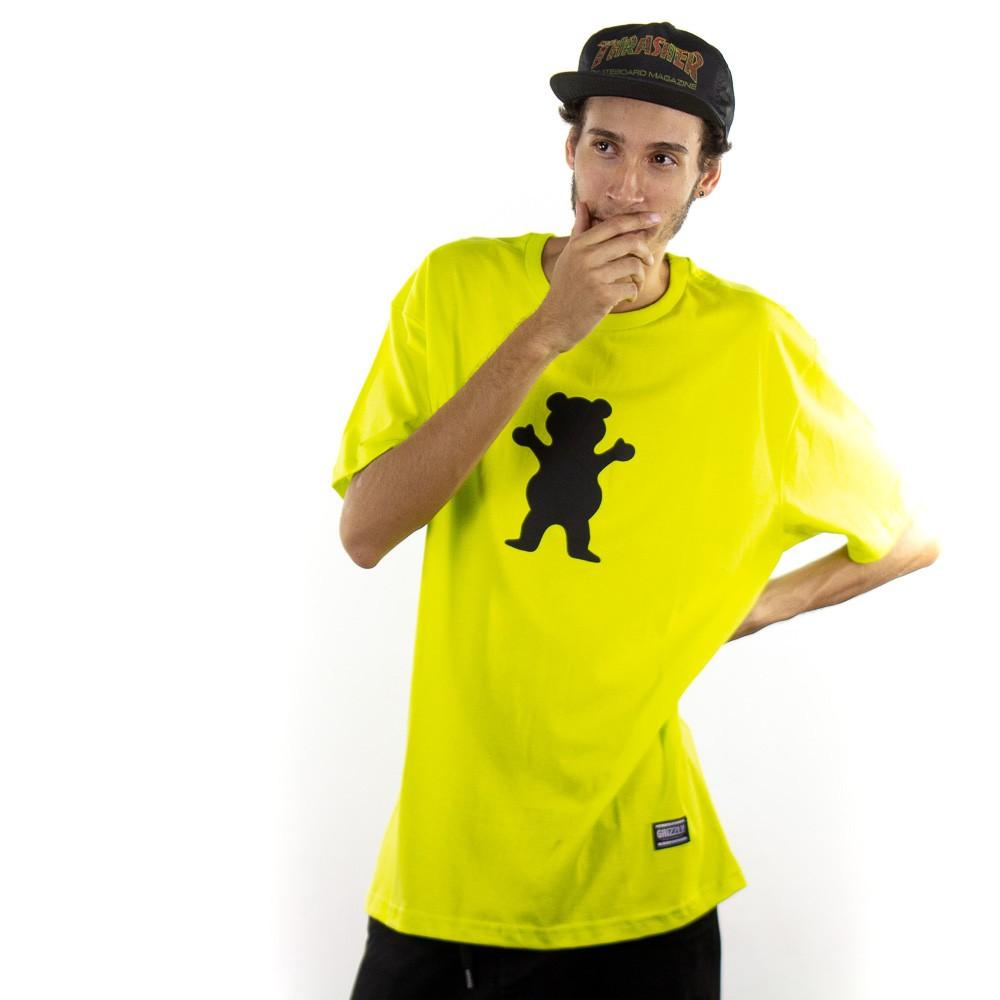 Camiseta Grizzly OG Bear Tee Verde