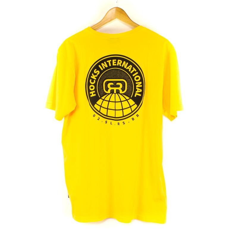 Camiseta Hocks Planeta Amarelo